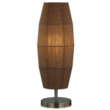 "Parvati Wide 20"" H Table Lamp with Novelty Shade"