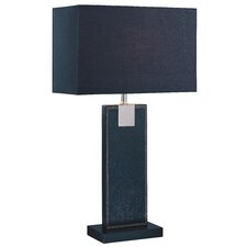 "Remigio 24.5"" H Table Lamp with Rectangular Shade"