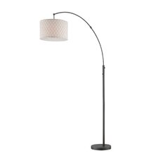 "Vasanti 77.5"" Arched Floor Lamp"