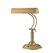 "Piano Mate Piano 20"" H Table Lamp with Rectangular Shade"