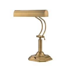 "Piano Mate Piano 20"" H Table Lamp with Rectangular Shade"