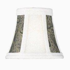 "5"" Jacquard Fabric Bell Candelabra Shade"