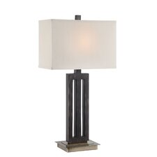 "Wyman 29"" H Table Lamp with Rectangular Shade"