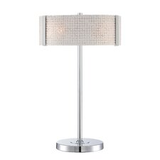 "Maso 25.5"" H Table Lamp with Drum Shade"