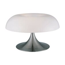 Pliant 12'' H Table Lamp with Bowl Shade