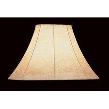"16"" Faux Leather Empire Lamp Shade"