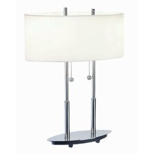 """Bliss 18"""" H Table Lamp with Drum Shade"""