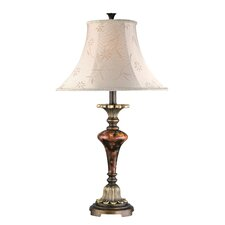 "Savoir Faire 29.5"" H Table Lamp with Bell Shade"