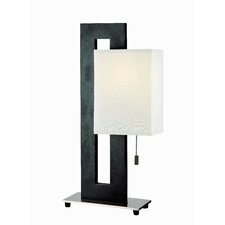 "Benito 20"" H Table Lamp with Rectangular Shade"