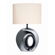 "Ceramic 23.5"" H Table Lamp with Drum Shade"