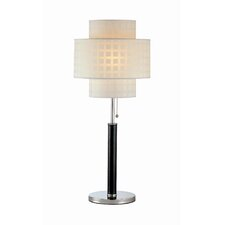 """Olina 31"""" H Table Lamp with Drum Shade"""
