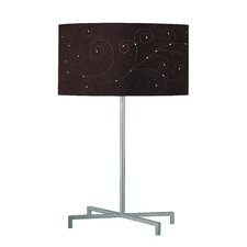 "Hemsk 24.5"" H Table Lamp with Drum Shade"