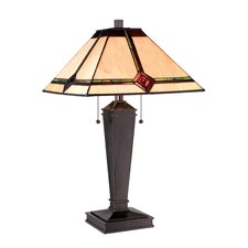 "Karysa 17"" H Table Lamp with Empire Shade"