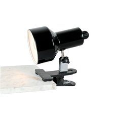 """Clip-On 6.75"""" H Table Lamp with Bell Shade"""
