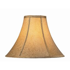 "17"" Jacquard Fabric Bell Lamp Shade"