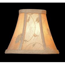 "6"" Woven Fabric Bell Lamp Shade"