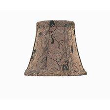 "6"" Jacquard Fabric Bell Candelabra Shade"