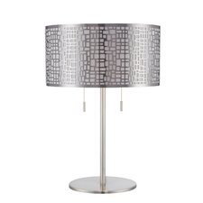 """Torre 22"""" H Table Lamp with Drum Shade"""