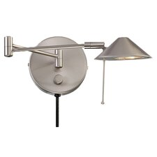 Swing Arm 1 Light Wall Sconce