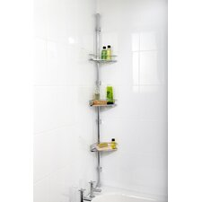 Corner Metal Adhesive Mount Shower Caddy