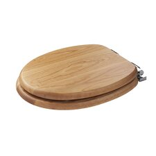 Bloomfield Elongated Oak Toilet Seat