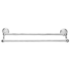 Westminster 51cm Wall Mounted Double Towel Rail