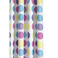 Textured Dots Shower Curtain