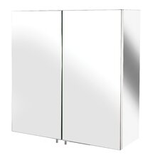 Avon 43cm x 44cm Surface Mount Mirror Cabinet