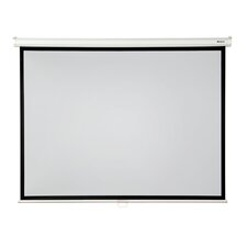 "High Contrast Grey 120"" diagonal Manual Projection Screen"