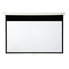 "Matte White 130"" diagonal Manual Projection Screen"