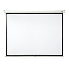 """Matte White 84"""" diagonal Manual Projection Screen"""