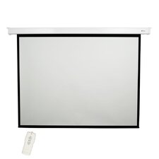 "Matte White 120"" diagonal Electric Projection Screen"