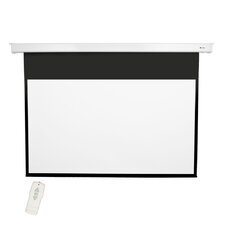 "Matte White 92"" diagonal Electric Projection Screen"