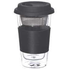 Glassen 11.83 oz. Travel Mug with Infuser