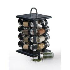 16 Piece Jar Spice Rack Set