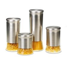 Flairs 4 Piece Storage Canister Set