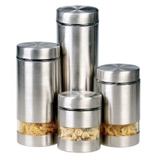 Rotunda 4 Piece Storage Canister Set