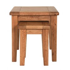 Rustic Manor 2 Piece Nest of Tables