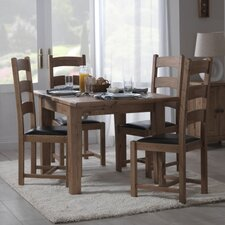 Rustic Manor Extendable Dining Table in 90 cm W × 100 cm L