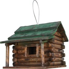 Log Cabin Hanging Bird House