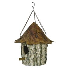 Oak and Tree Leaf Hanging Birdhouse