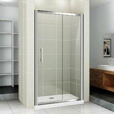 AquaSpa Deluxe 185cm x 110cm Sliding Shower Door