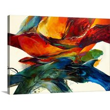 """Opposites Attract"" by Jonas Gerard Gallery Painting Print on Wrapped Canvas"