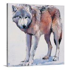 'Edge, 2001 (Oil on Canvas)' by Mark Adlington Graphic Art on Canvas