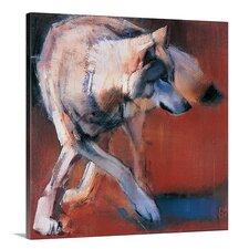 'De Siberie, 2001 (Oil on Canvas)' by Mark Adlington Graphic Art on Canvas