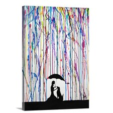 'Sempre' by Marc Allante Graphic Art on Wrapped Canvas