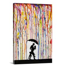 'Tempest' by Marc Allante Graphic Art on Wrapped Canvas