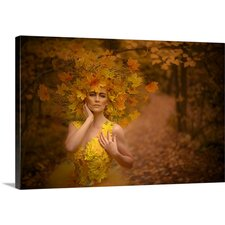 'Meta Fall Beauty I' by Matt Anderson Photographic Print on Canvas
