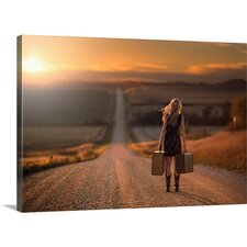 'Leaving Nebraska' by Jake Olson Photographic Print on Canvas