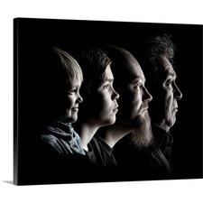 'Men' by Petri Damsten Photographic Print on Canvas